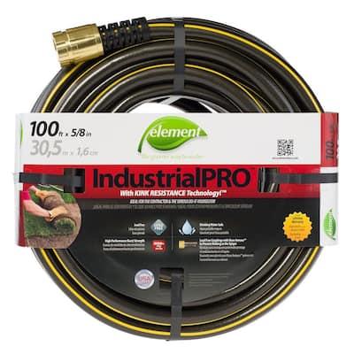 IndustrialPRO 5/8 in. Dia x 100 ft. Lead Free Garden Hose