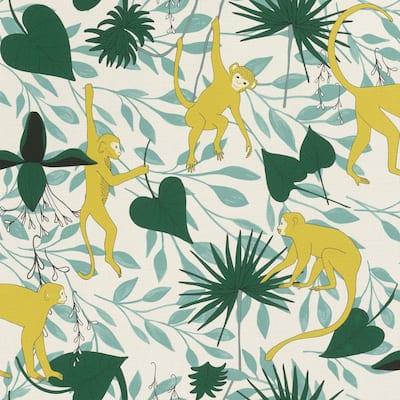 Langur Yellow Monkey Troop Wallpaper