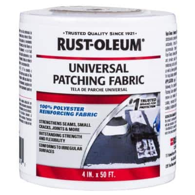 4 in. x 50 ft. Universal Roofing Patching Fabric (12-Pack)