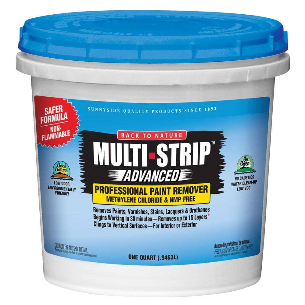 MULTI-STRIP Advanced Series 1 Qt. Multiple Layer Paint and Varnish Remover