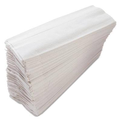 11 in. x 10.13 in. White Morsoft C-Fold Paper Towels (200 Towels/Pack, 12-Packs/Carton)