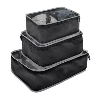 6-Piece Ultimate Traveling Set in Black