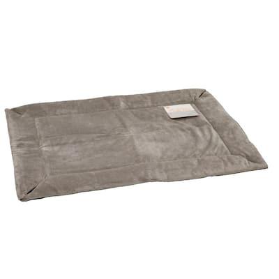 21 in. x 31 in. Medium Gray Self-Warming Crate Pad