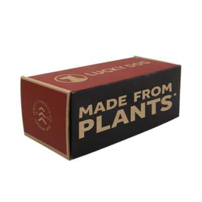 ASTM D6400 Compliant Corn Based Compostable Made from Plants Poop Bags (10 Roll/150 Bags)