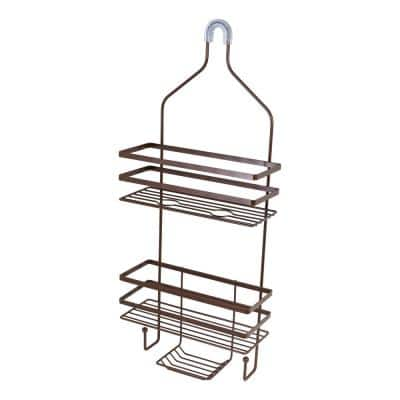 Hanging Shower Caddy in Oil-Rubbed Bronze