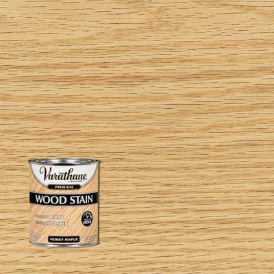 1 qt. Honey Maple Premium Fast Dry Interior Wood Stain (2-Pack)