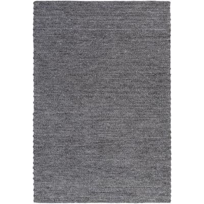 Vasilisa Black 5 ft. x 8 ft. Area Rug
