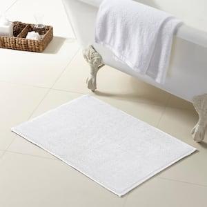 White Turkish Cotton Reversible Bath Rug