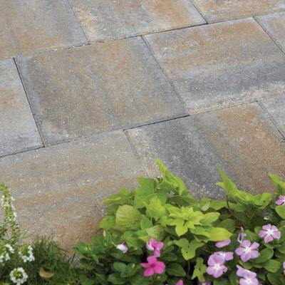 16 in. x 16 in. x 1.75 in. Yukon Square Concrete Step Stone