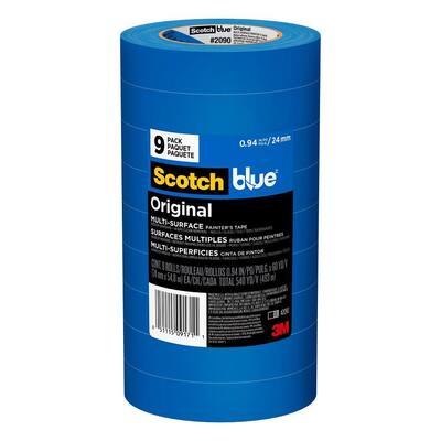 ScotchBlue 0.94 in. x 60 yds. Original Multi-Surface Painter's Tape (9-Pack)