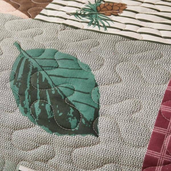 Details about  /Greenland Home Moose Lodge Quilted Bedding Set King