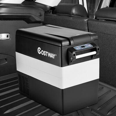 55 Quart Portable Refrigerator Electric Car Chest Cooler Compressor Freezer Camping