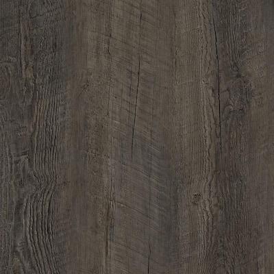 8.7 in. W x 59.4 in. L Dark Oak Click-Lock Luxury Vinyl Plank Flooring (48 cases/1029.6 sq. ft./pallet)