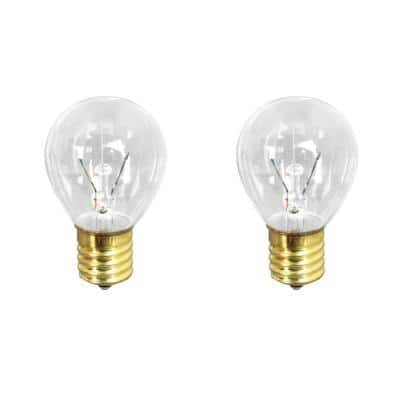 40-Watt Soft White (2700K) S11 Intermediate E17 Base Dimmable Incandescent Light Bulb (2-Pack)