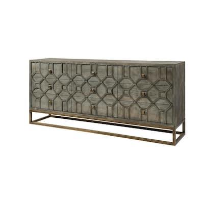 Genevieve II Brown Sideboard