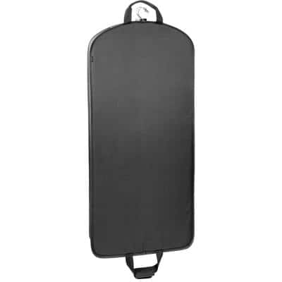 52 in. Black Garment Bag with Handles