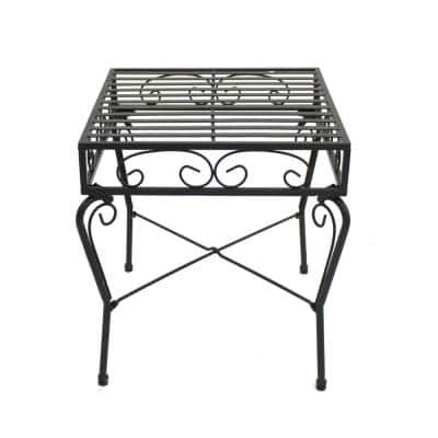 French Quarter Steel Outdoor End Table
