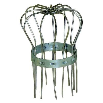 2 in. Galvanized Steel Gutter Strainer