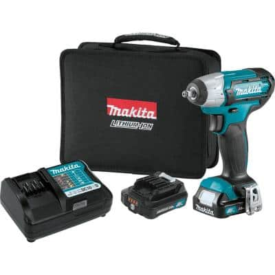 12-Volt MAX CXT Lithium-Ion Cordless 3/8 in. Square Drive Impact Wrench Kit