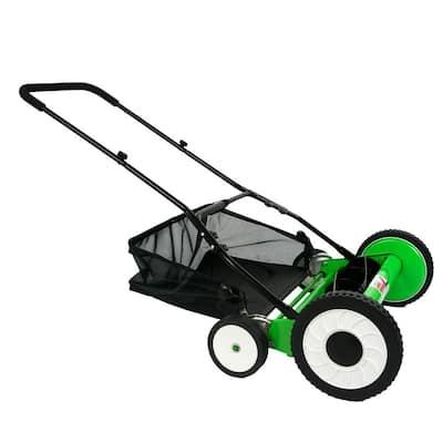 20 in. Walk-Behind Manual Push Reel Mower