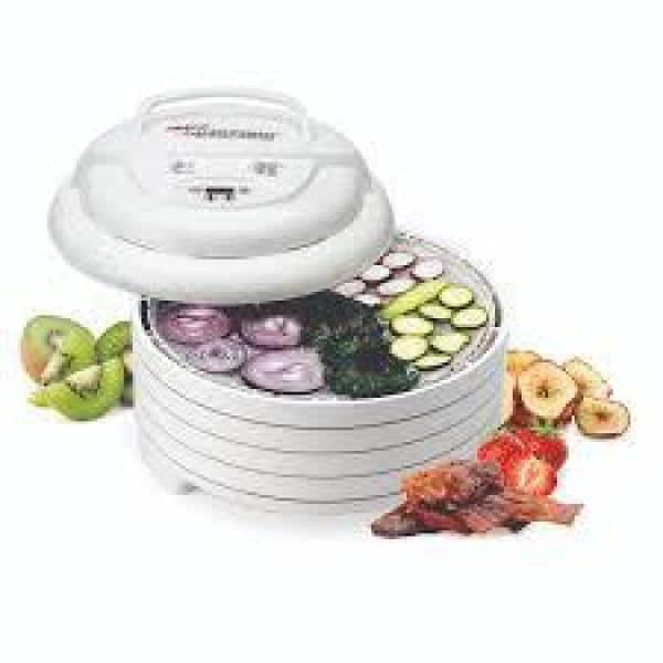 Nesco Gardenmaster 4 Tray White, Nesco Gardenmaster Food Dehydrator