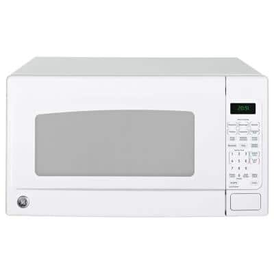2.0 cu. ft. Countertop Microwave in White