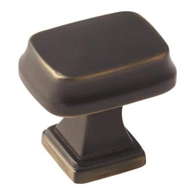 Revitalize 1-1/4 in (32 mm) Length Venetian Bronze Cabinet Knob