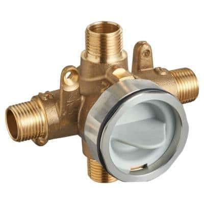 Flash Shower Rough-In Valve with Universal Inlets/Outlets