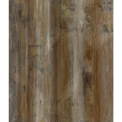 Blazed Barnwood 6 in. x 36 in. Peel and Stick Wall and Floor Luxury Vinyl Planks (21 sq. ft. per case)