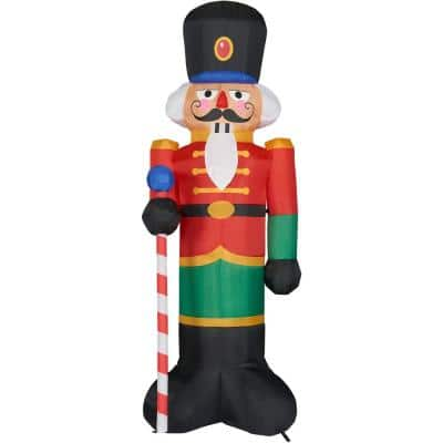 10 ft. Nutcracker Christmas Inflatable with Lights