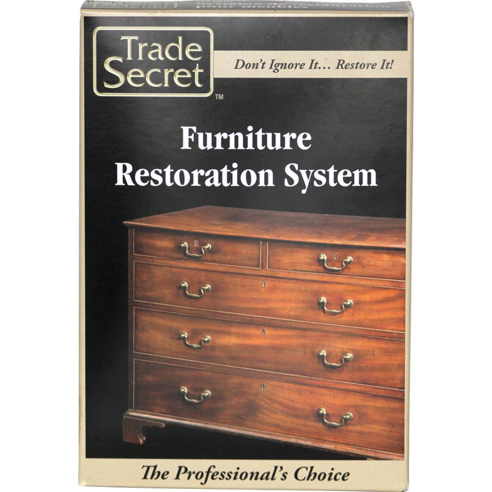 8-Piece Kit Furniture Restoration System