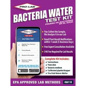 Bacteria in Water Test Kit to Detect Dangerous Coliform and E. Coli Bacteria in Your Water