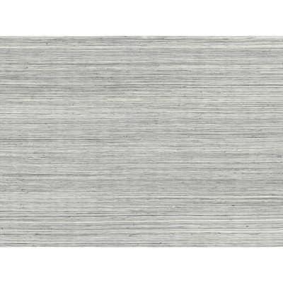 Baishin Silver Grasscloth Wallpaper Grass Cloth Peelable Roll (Covers 72 sq. ft.)