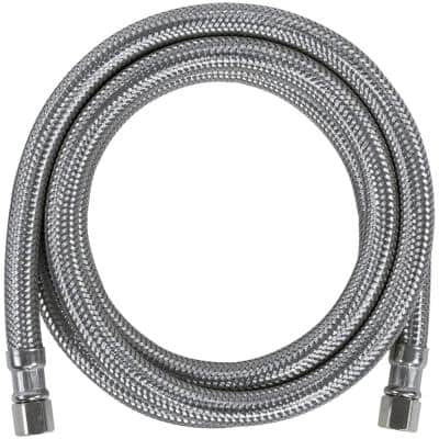 5 ft. Braided Stainless Steel Ice Maker Connector (40-Pack)