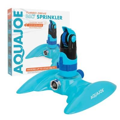 4-Pattern 360° Turbo Drive Sprinkler