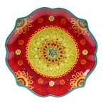 The Tunisian Sunset Collection Scalloped Platter