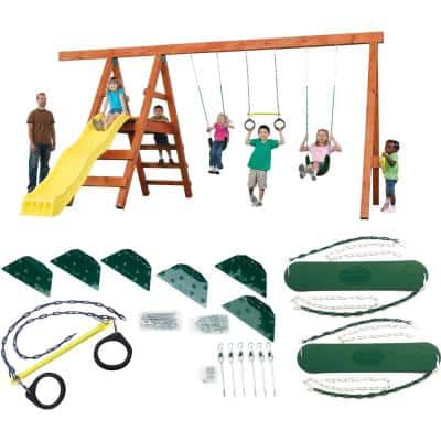 Do-It-Yourself Pioneer Custom Play Set (Wood and Slide Not Included)