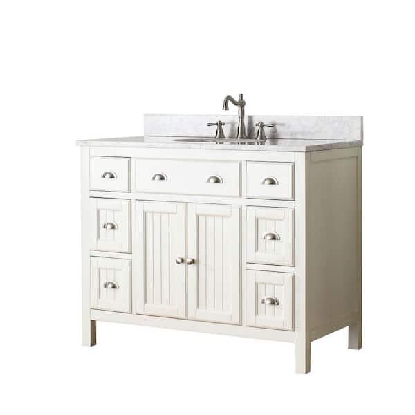 Avanity Hamilton 42 In Vanity Cabinet, 42 Inch Bathroom Vanity Without Top