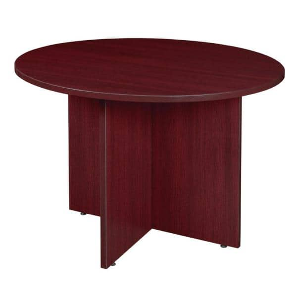 Regency Magons Mahogany 42 In Round, 72 Inch Round Conference Table