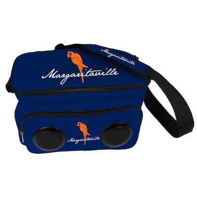 2 Gal. Capacity Cooler Bag with Keep Em' Cool Plastic Speakers