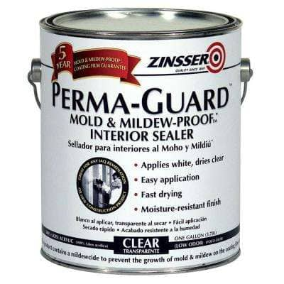 Perma-Guard 1 gal. Clear Acrylic Mold & Mildew-Proof Interior Sealer (2-Pack)