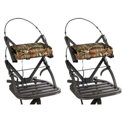 Openshot SD Self Climbing Treestand Bow and Rifle Deer Hunting (2-Pack)