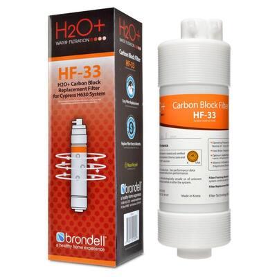 H2O+ Cypress Carbon Block Filter