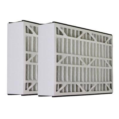 20 x 25 x 5 Micro Dust Merv 13 Replacement for Lennox X1152 Air Filter (2-Pack)