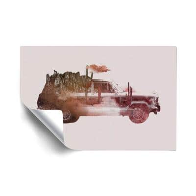 """""""Drive me back home no.2"""" Travel Removable Wall Mural"""