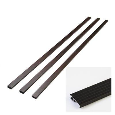 Rustic 0.75 in. x 2 in. x 83 in. Wood Jamb Extender Moulding Kit