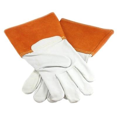 ForneyHide Goatskin TIG Welding Gloves, Men's Size Large