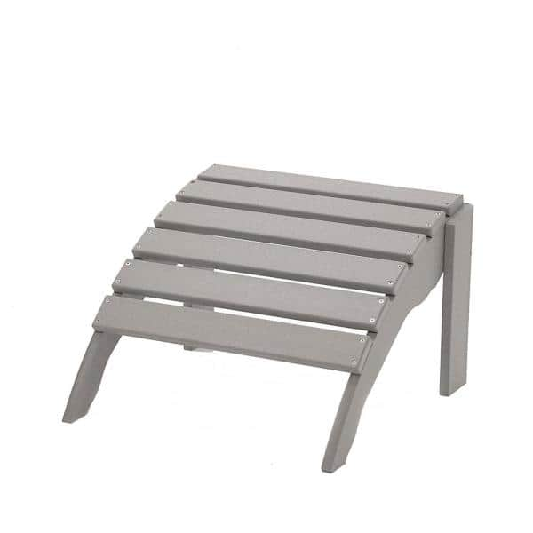 Durogreen Icon Light Gray Plastic, Plastic Feet For Outdoor Furniture Home Depot