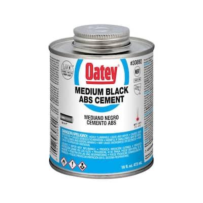 16 oz. Medium Black ABS Cement