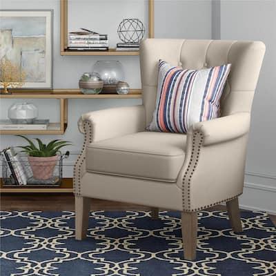 Tilda Beige Accent Chair